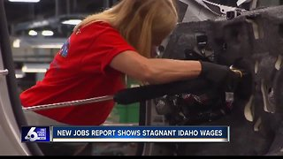 New jobs report shows stagnant Idaho wages