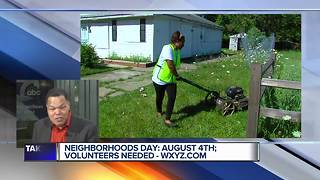 Arise Detroit! to host annual Neighborhoods Day, volunteers needed - Video