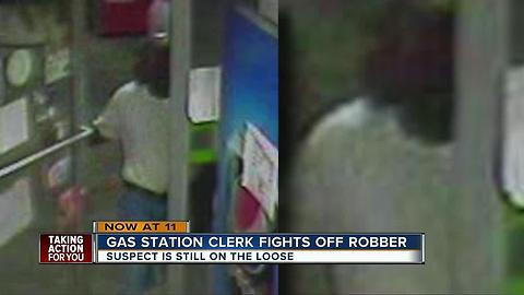 Gas station robber