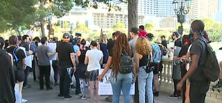 More protests take over the Las Vegas Strip