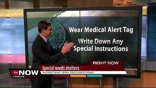 Hurricane Irma: Special Needs Shelters - Video
