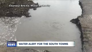 Water alert for Southtowns - Video
