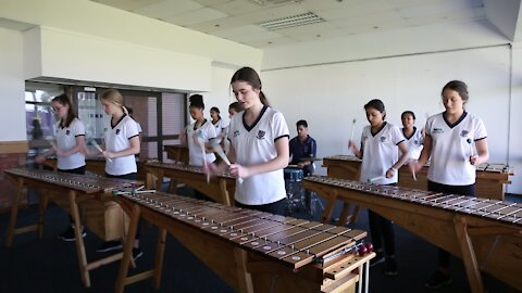 SOUTH AFRICA - Durban - Griffin girls marimba band (Video) (EAN)