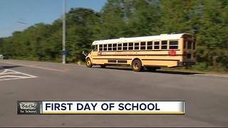 First day of school in Hillsborough County - Video