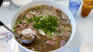 Have Some Fresh Noodles With Your Giant Pho Bowl
