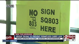 Group trying to prevent permitless carry law