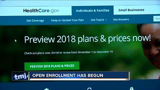 Open enrollment has begun - what to know - Video