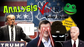 US ELECTION 2020 - Analysis Vote R Frog!! PLEASE SHARE