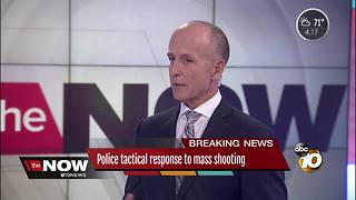Police tactical response to mass shooting - Video