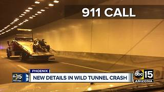New documents released from wild tunnel crash in Phoenix - Video