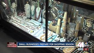 Small businesses prepare for holiday shopping season - Video