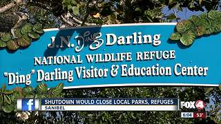 Shutdown Would Close Local Parks - Video