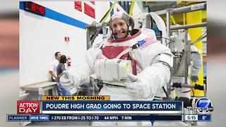 Poudre High School graduate going to International Space Station - Video