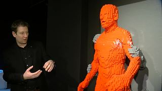 Large Lego exhibit opens in Omaha's Capitol District - Video