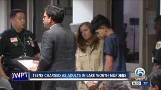 Teens held without bond in Lake Worth homicides - Video