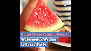 Bring These Tequila-Soaked Watermelon Wedges to Every Party