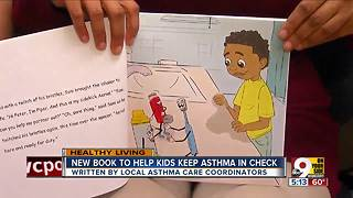 New book helps kids with asthma - Video
