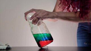 Science Sundays: An experiment in density