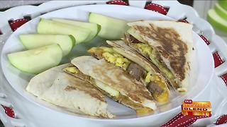Breakfast Quesadillas with Bold Fall Flavors
