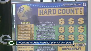 Green Bay Packers, Wisconsin Lottery reveal new scratch tickets
