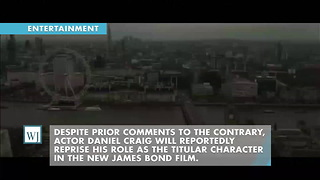 Daniel Craig Set To Reprise His Role As James Bond In Upcoming Film - Video