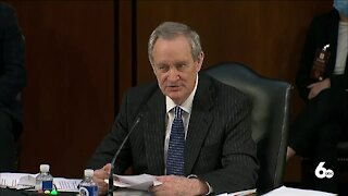 Sen. Crapo opening statement, Idaho officials respond to SCOTUS confirmation hearing