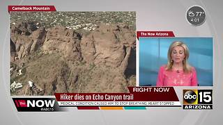Hiker dies on Camelback Mountain - Video