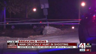 Shooting near 26th and Topping leaves 1 man critically injured