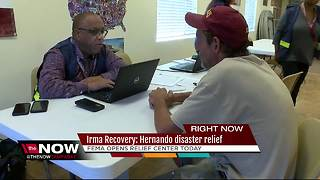 Irma Recovery: Hernando disaster relief - Video