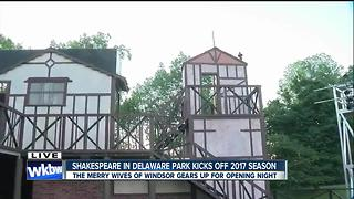 Shakespeare in Delaware Park kicks off 2017 season! - Video