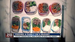 Feeding Your Family for $40: BACK TO SCHOOL Meal Prep Guide for busy parents - Video