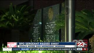 BPD Sergeant Dennis Moore passes away after medical event - Video