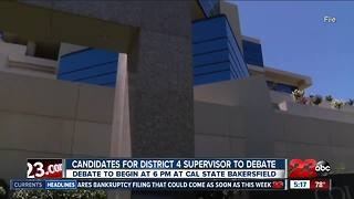 District 4 Supervisors will debate at CSUB - Video