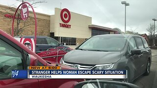 Good Samaritan saves woman from scary situation at Target