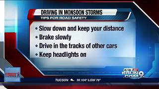 ADOT's tips to staying safe on the roads during monsoon