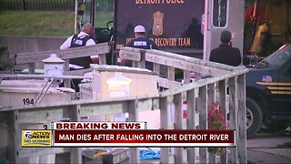 U.S. Coast Guard recovers missing man's body from Detroit River