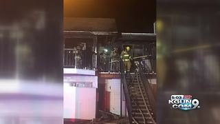 Man arrested after midtown apartment fire - Video