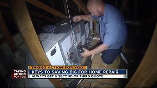 Keys to saving big for home repair - Video