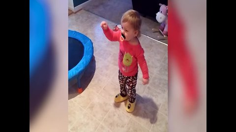 Baby Girl has Awesome Dance Moves