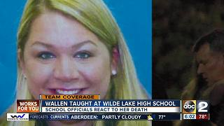 Wilde Lake community mourns loss of teacher - Video