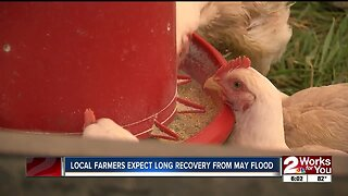 Local farmers expect long recovery from May flood