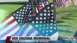 USS Arizona Mall Memorial Unveiled