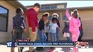 Tulsa school needs help building playground