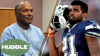 OJ Simpson Parole Reactions, Ezekiel Elliot Catches an 'L' -The Huddle