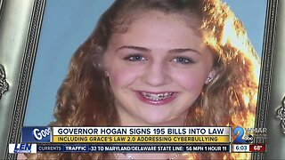 Governor Larry Hogan signs Grace's Law 2.0