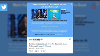 """ESPN Giving Matt Hasselbeck One Game """"Tryout"""" For """"MNF"""" Job - Video"""