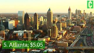 The cities with the highest and lowest ATM fees - Video