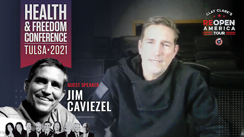 Jim Caviezel Speaks at Clay Clark's Health and Freedom Conference