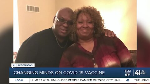 Changing minds on COVID-19 vaccine