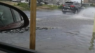 Streets of Dare County Flooded After Heavy Rains - Video